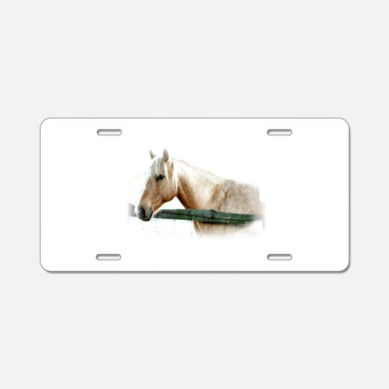 Horse Photography Aluminum License Plate