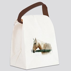 Horse Photography Canvas Lunch Bag