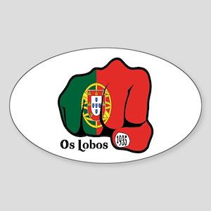 Portugal Fist 1935 Oval Sticker