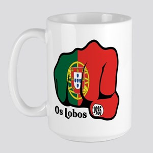 Portugal Fist 1935 Large Mug
