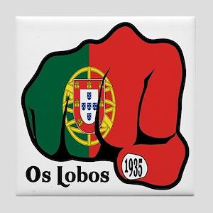 Portugal Fist 1935 Tile Coaster
