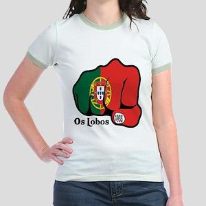 Portugal Fist 1935 Jr. Ringer T-Shirt