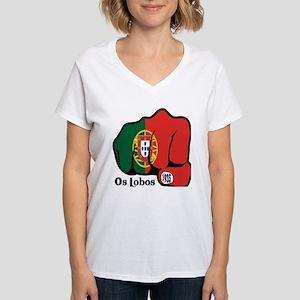 Portugal Fist 1935 Women's V-Neck T-Shirt