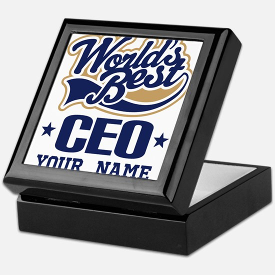 CEO Personalized Gift Keepsake Box