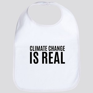 Climate Change is Real Baby Bib