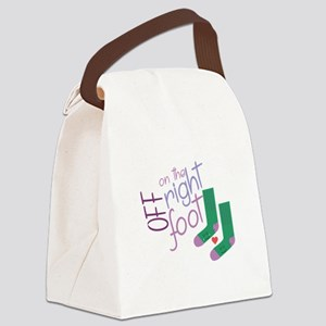 The Right Foot Canvas Lunch Bag