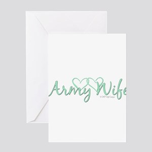 Army Wives Greeting Card