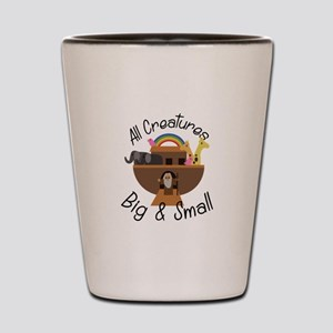 All Creatures Shot Glass