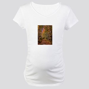 The Road to Success Maternity T-Shirt