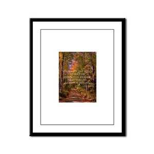 The Road to Success Framed Panel Print