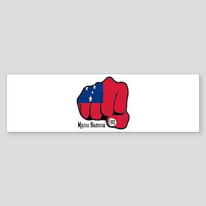 Samoa Fist 1923 Bumper Sticker