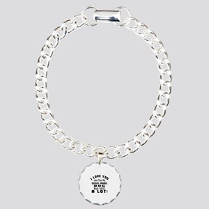Sussex Spaniel dog desig Charm Bracelet, One Charm