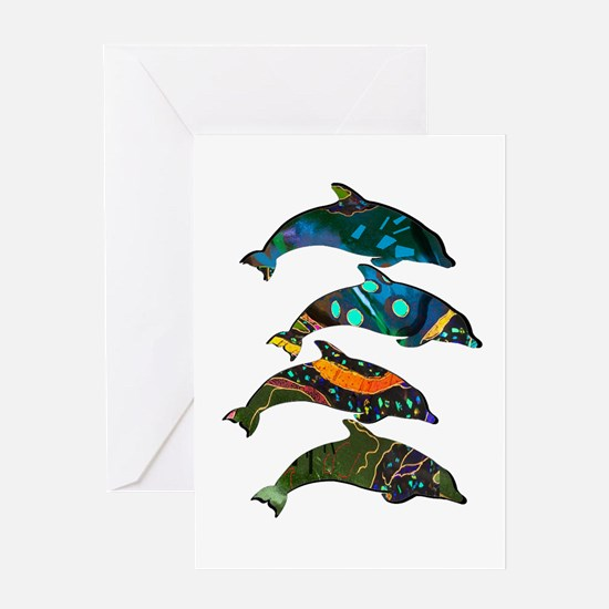 POD RISE Greeting Cards