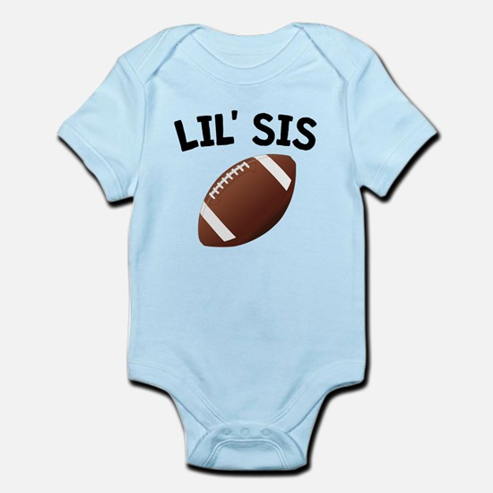 Lil Sis Football Body Suit