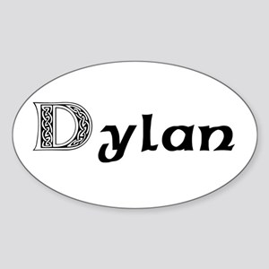 Dylan Oval Sticker