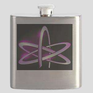 Atheism Atom Symbol Flask