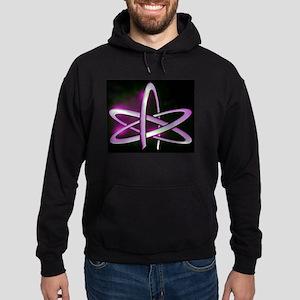 Atheism Atom Symbol Hoodie (dark)