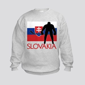 Slovak Hockey Kids Sweatshirt