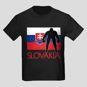 Slovak Hockey Kids Dark T-Shirt
