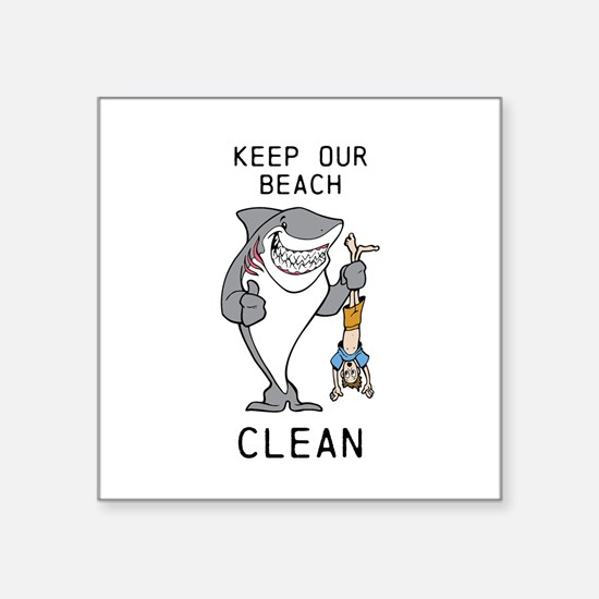 Clean Beaches Sticker