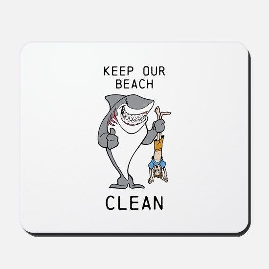 Clean Beaches Mousepad