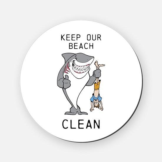 Clean Beaches Cork Coaster
