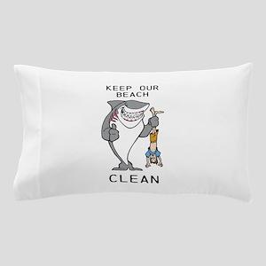 Clean Beaches Pillow Case