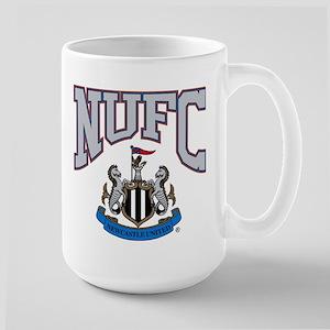 NUFC and Crest 15 oz Ceramic Large Mug