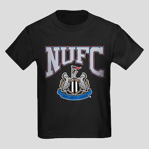 NUFC and Crest Kids Dark T-Shirt