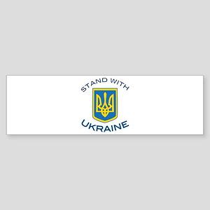 Stand With Ukraine Bumper Sticker