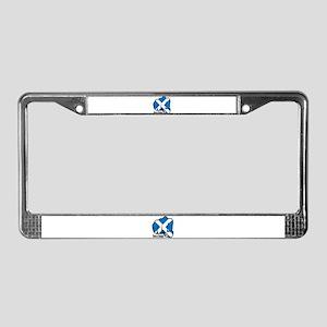 Scotland Fist 1873 License Plate Frame