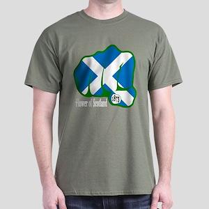 Scotland Fist 1873 Dark T-Shirt