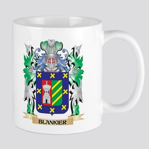 Blankier Coat of Arms - Family Crest Mugs