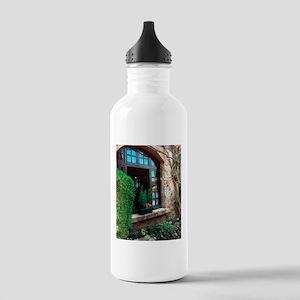 Window box in Perouges Water Bottle