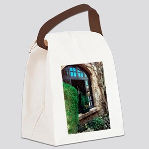 Window box in Perouges Canvas Lunch Bag