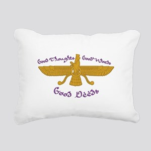 Good Thoughts Rectangular Canvas Pillow
