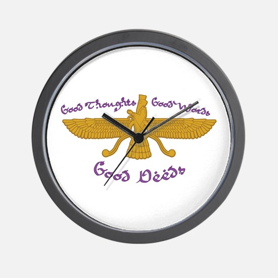 Good Thoughts Wall Clock