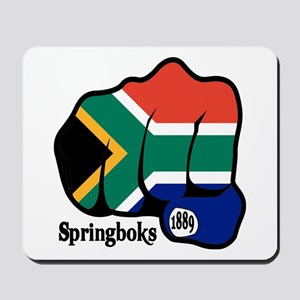 South Africa Fist 1889 Mousepad