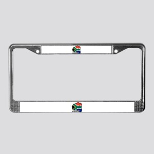 South Africa Fist 1889 License Plate Frame