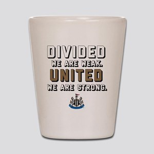 NUFC United Strong Shot Glass