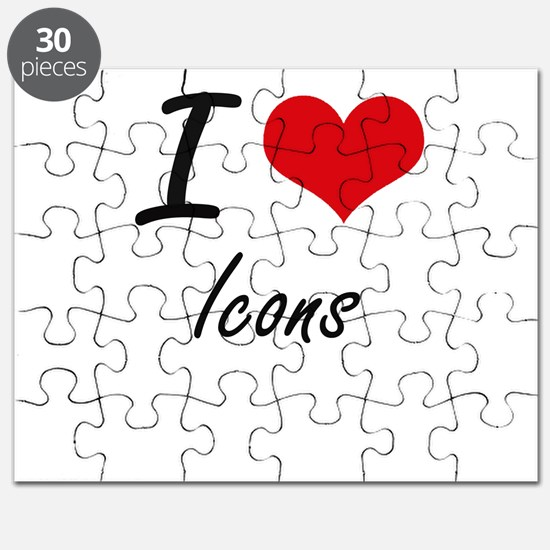 I love Icons Puzzle