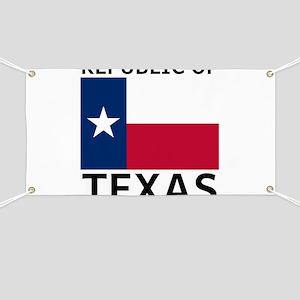 Republic of Texas Banner