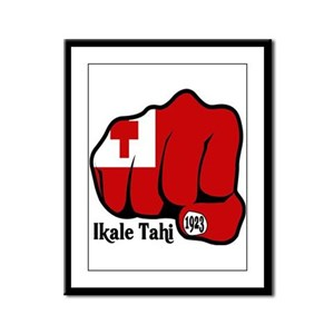 Tonga Fist 1923 Framed Panel Print