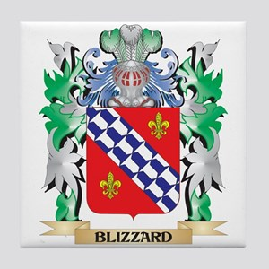 Blizzard Coat of Arms - Family Crest Tile Coaster