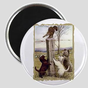 Scottie Westie & Skye Terriers Magnet