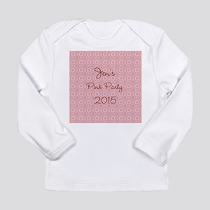 Chic Divine Pink Long Sleeve Infant T-Shirt