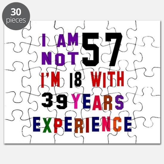 57 Birthday Designs Puzzle