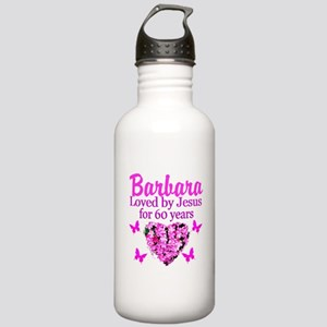 PRAYING 60 YR OLD Stainless Water Bottle 1.0L