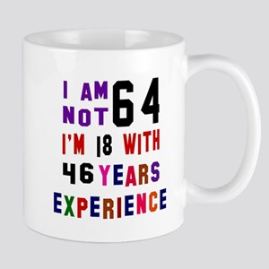 64 Birthday Designs Mug