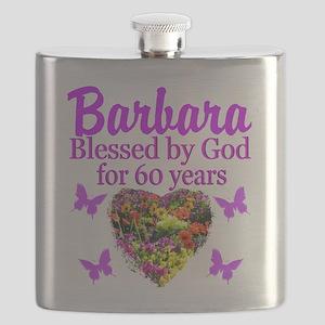 PRAYING 60 YR OLD Flask